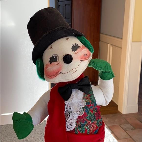 """AnnaLee 18"""" snowman"""